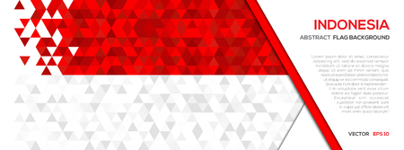 abstract polygon geometric shape background indonesia flag royalty free vector graphics abstract polygon geometric shape