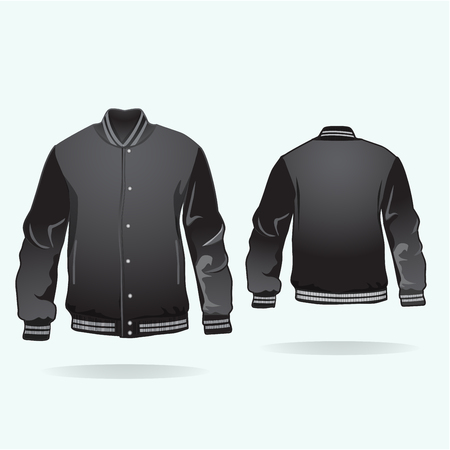 Varsity jacket.