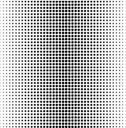 dots pattern on a white