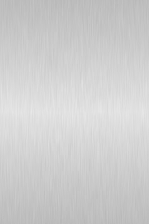 Shiny silver brushed steel background