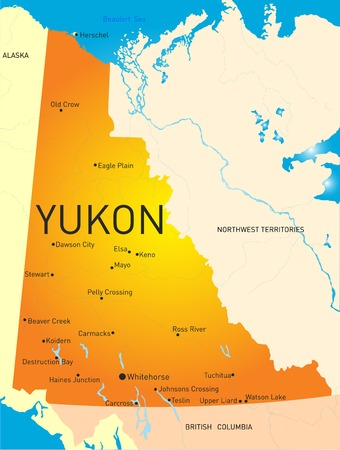Yukon province color map