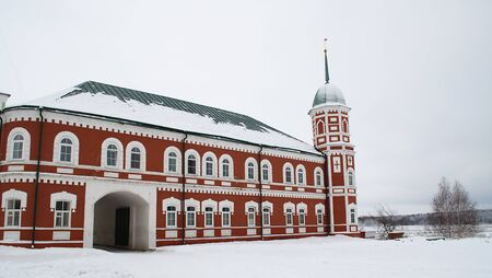 Monastery in the winter