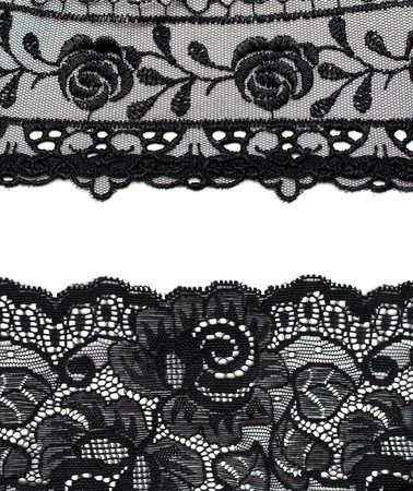 Photo pour Collage lace with pattern in the manner of flower. Picture is formed from several photographies - image libre de droit
