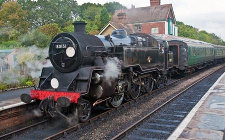 Steam Locomotive Train Sussex, England
