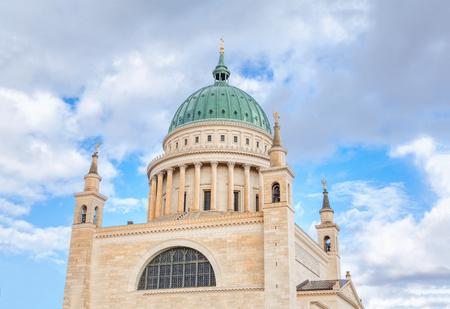 St. Nicholas is a Lutheran church in Potsdam , Germany