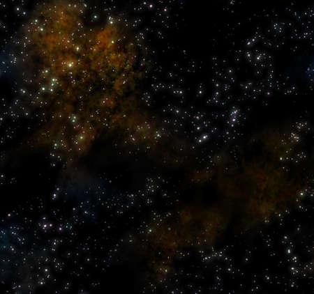 image of a starry sky with nebula