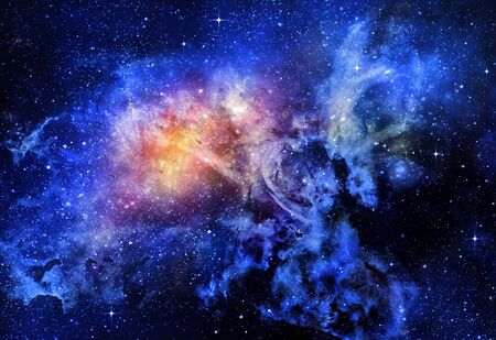 starry deep outer space nebu