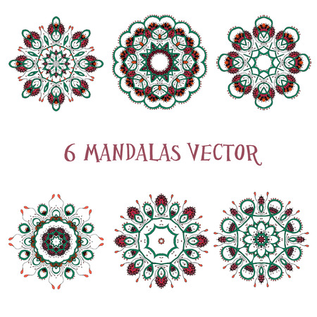 Set mandalas. Perfect set for any other kind of design