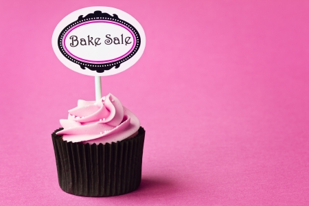 Cupcake for a bake sale