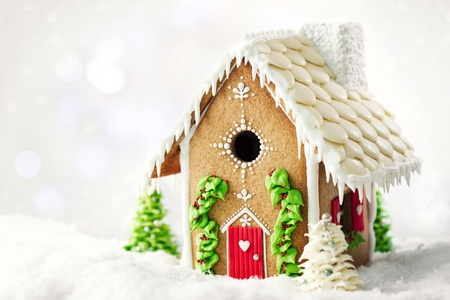 Photo for Gingerbread house  - Royalty Free Image