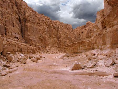 Colored Canyon, Sinai, Egypt