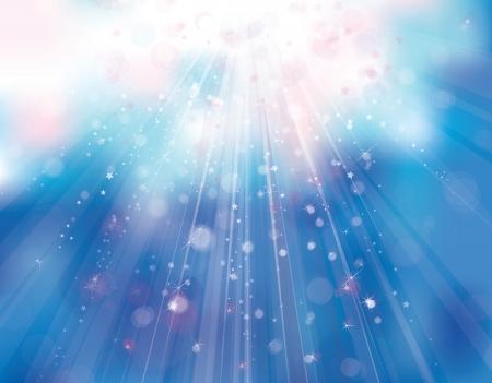 Illustration pour sunshine sky background.  - image libre de droit