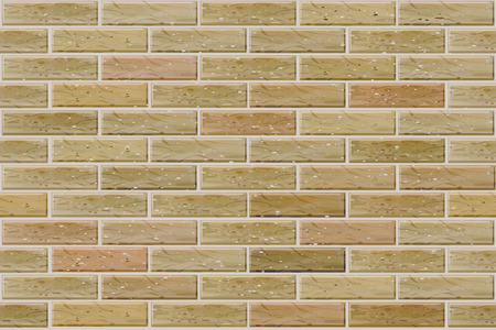 Vector seamless brick wall.