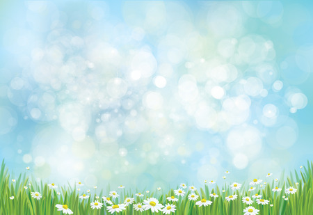 Illustration for Vector nature background. - Royalty Free Image