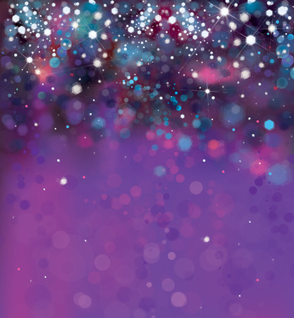 Ilustración de Vector abstract violet sparkle, glitter background. - Imagen libre de derechos