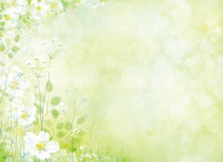 Ilustración de Vector spring floral pattern. - Imagen libre de derechos