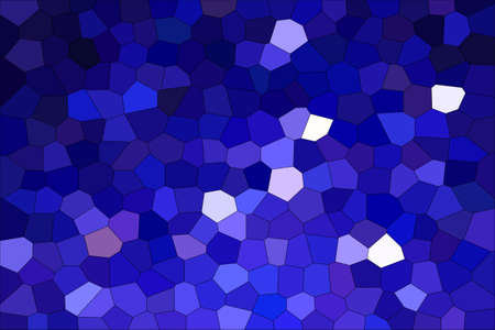 Foto de Abstract Dark Blue Shades Modern Mosaic Tiles Material Texture Background - Imagen libre de derechos