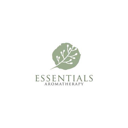 Illustration pour Simple Logo for essentials - image libre de droit