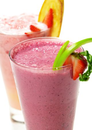 Refreshment Berries Smoothies