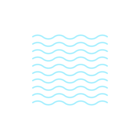 Illustration pour Vector weather icon of fog to show the fogy forecast and the current climate outside for applications, widgets, and other meteorological designs. - image libre de droit