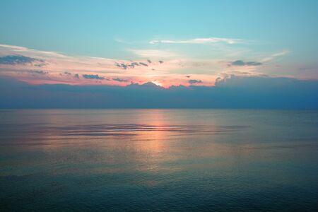 Foto de Sunset on the Baltic - Imagen libre de derechos
