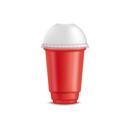 Plastic Cup With Lid Disposable