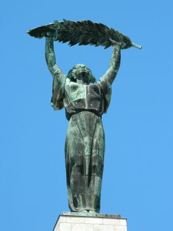 Gellert hill top statue