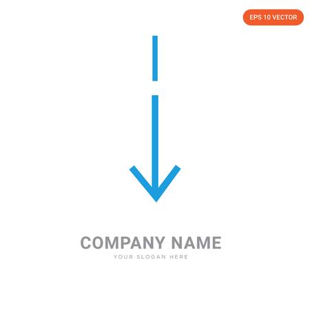 Slim down company logo design template, Slim down logotype vector icon, business corporative