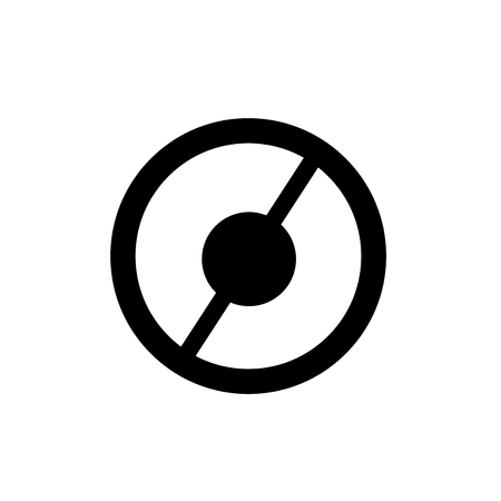 Banned icon vector isolated on white background for your web and mobile app design, Banned logo concept