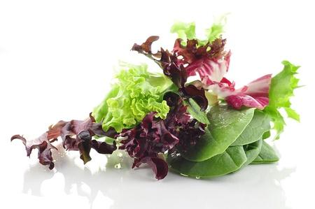 salad leaves assortment