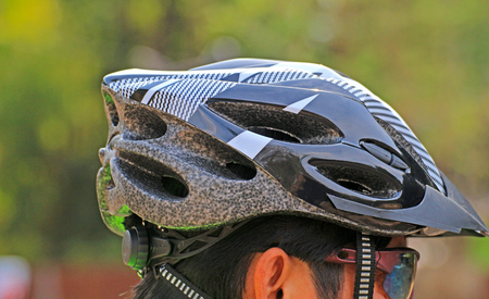 cycling helmet for safety