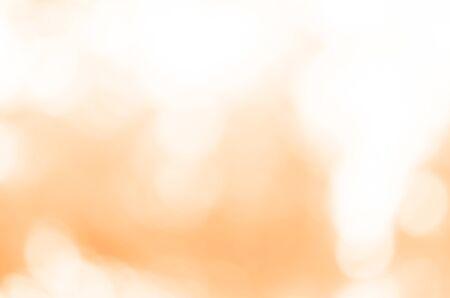 Foto de Abstract orange light bokeh background - Imagen libre de derechos