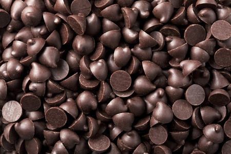 Chocolate chips that are lai