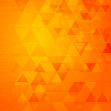 Foto de Abstract triangle shapes vector tech design - Imagen libre de derechos