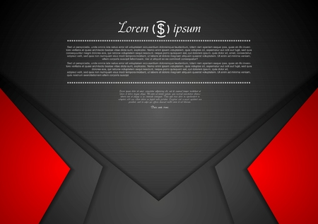 Photo pour Vibrant corporate abstract background. Vector design - image libre de droit
