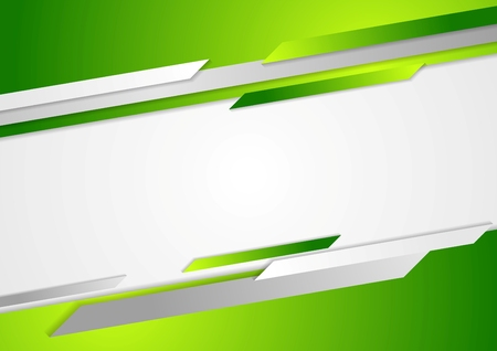 Foto de Abstract green corporate background. Vector design - Imagen libre de derechos