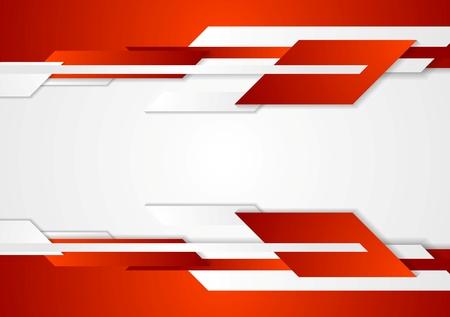 Ilustración de Red tech geometric design. Vector corporate background - Imagen libre de derechos