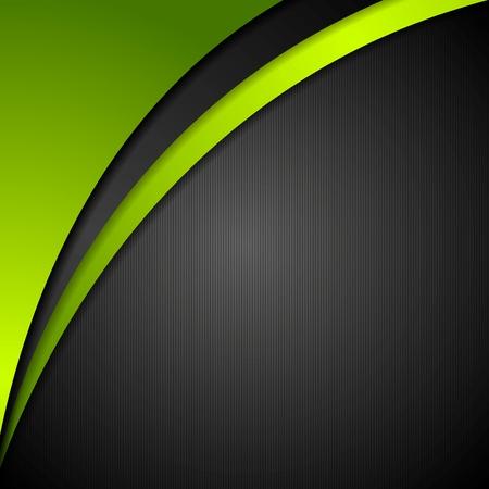 Illustration pour Abstract corporate wavy background. Vector design - image libre de droit