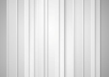 Illustration pour Abstract grey minimal striped tech background. Vector graphic concept design - image libre de droit