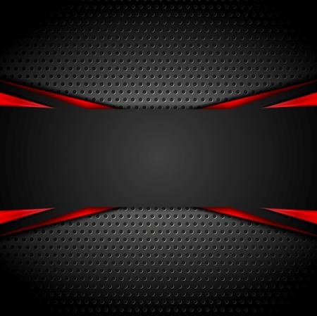 Ilustración de Abstract dark corporate red black background. Vector illustration - Imagen libre de derechos
