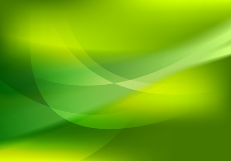 Ilustración de Abstract green soft waves shiny background. Vector graphic design - Imagen libre de derechos