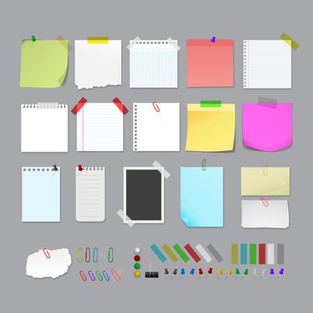 Illustration pour Notes images - image libre de droit