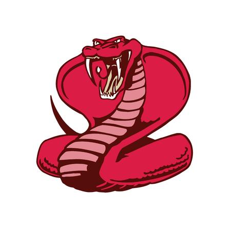 Cobra snake mascot.