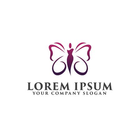Ilustración de beauty spa people Logos. Cosmetics logo design concept template - Imagen libre de derechos