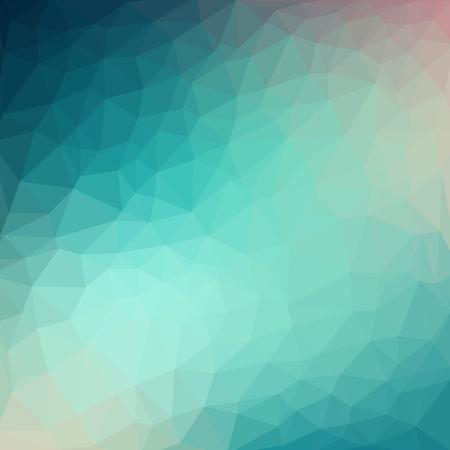 Illustration pour Light blue cool vector Low poly crystal background. Polygon design pattern. - image libre de droit