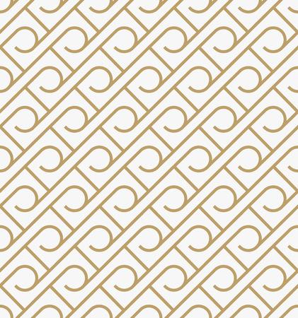 Ilustración de geometric seamless pattern with line, modern minimalist style pattern background - Imagen libre de derechos