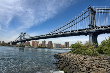 Manhattan Bridge, New York City, U S A
