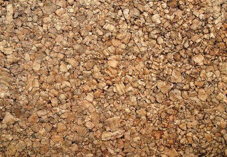 Brown cork wood back ground