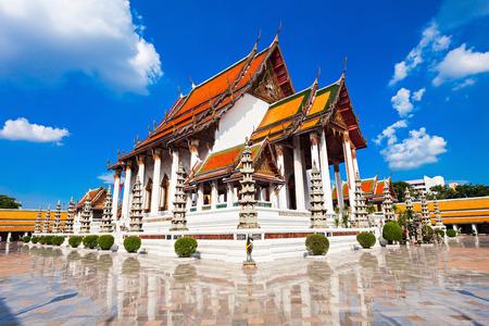 Wat Suthat Thep Wararam is a Buddhist temple in Bangkok, Thailand