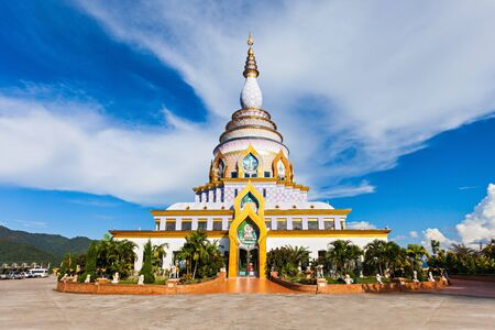 Wat Tha Ton is a buddhist temple in Chiang Mai Province, Thailand